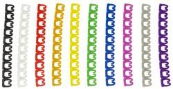 LogiLink Kodierungsringe für Patchkabel, farbig sortiert