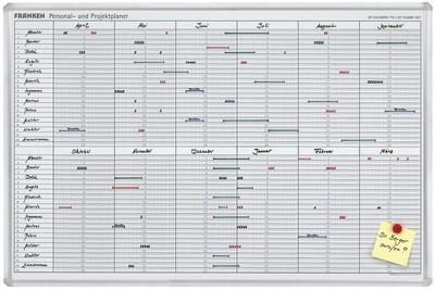 FRANKEN Planungstafel JetKalender, Dauerkalender, 24 Pos.
